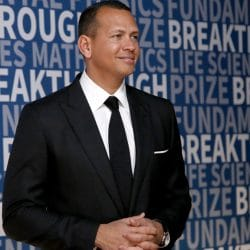 MLB player Alex Rodriguez attends the 2017 Breakthrough Prize at NASA Ames Research Center on December 4, 2016 in Mountain View, California. (Photo by Kimberly White/Getty Images for Breakthrough Prize)