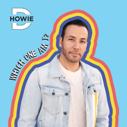 Howie Dorough posing for Album Cover No Hablo Espanol
