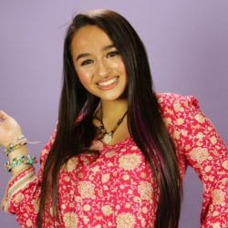 Jazz Jennings posing for camera smiling