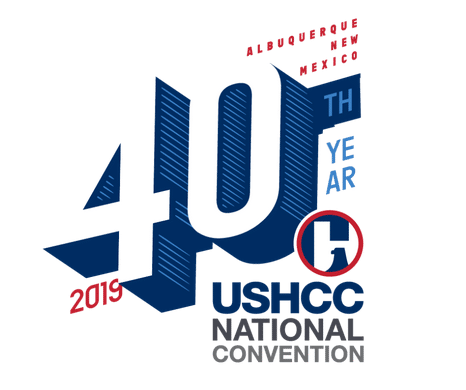 USHCC National Convention logo