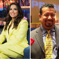 Eva Longoria pictured with Richard Montanez