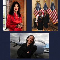 Three Native American Women pictured that are making an impact